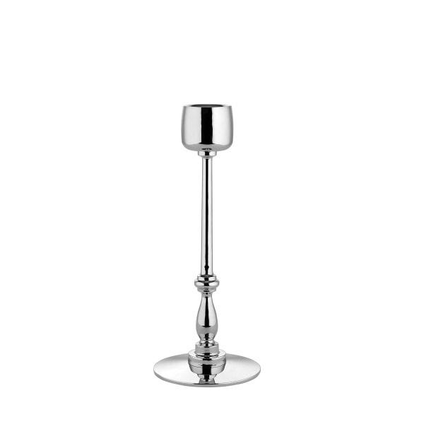 Alessi Kerzenständer silber 19 cm