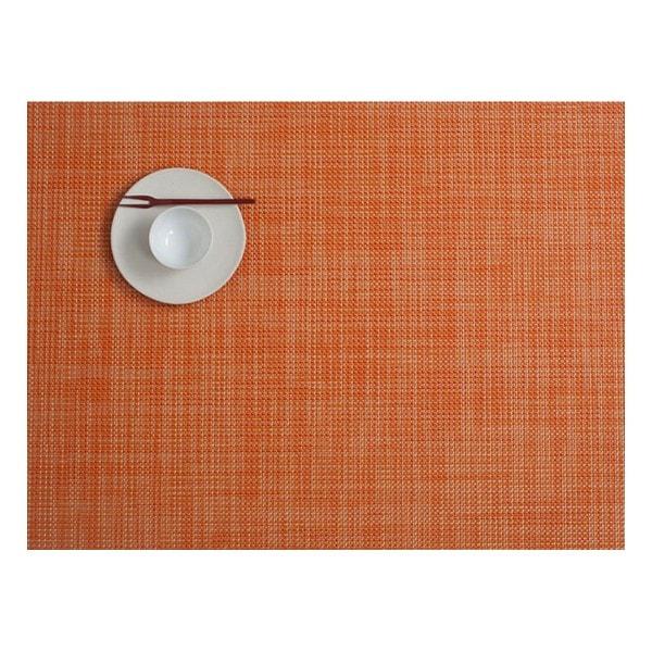 Chilewich Tischset MINI BASKETWEAVE Clementine - 2er Set