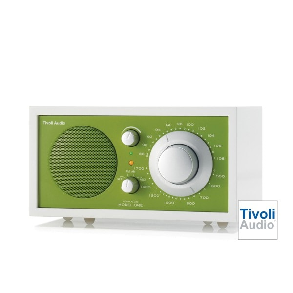Tivoli MODEL ONE WHITE LINE EDITION olivgrün