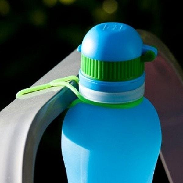 zielonka unzerbrechliche Trinkflasche Viv 0.5 l , blau
