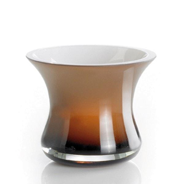 Erik Bagger Teelichthalter 9 cm mokka