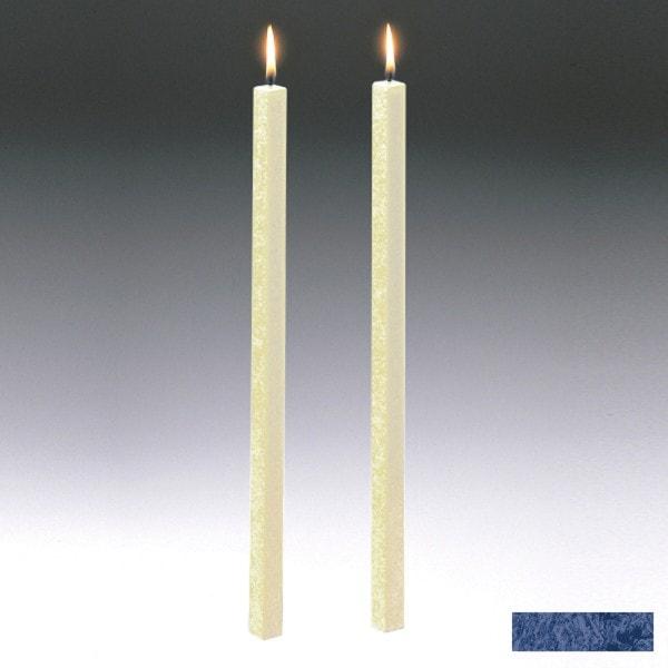 Amabiente Kerze CLASSIC Nachtblau 40cm - 2er Set
