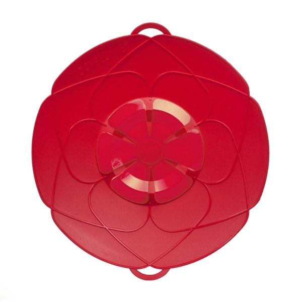 Kochblume Überkochschutz rot 25.5 cm