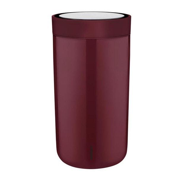 Stelton Trinkbecher To Go Click 0.2 l - burgund