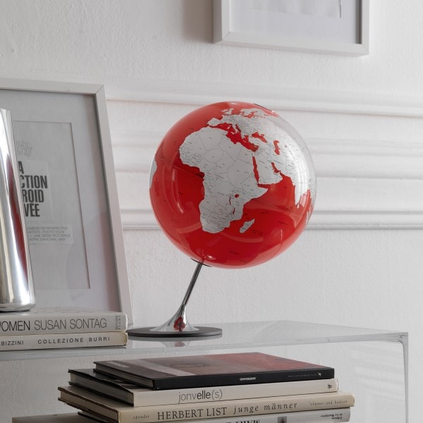 Räthgloben Tisch Globus ANGLO rot 36cm
