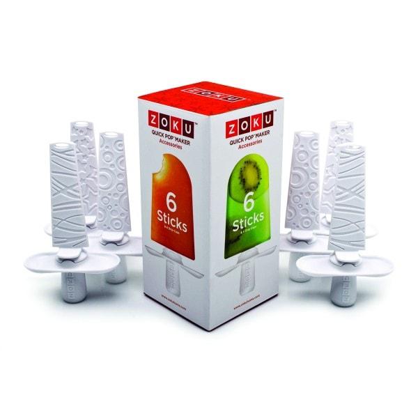 ZOKU Quick Pop Maker Eisstiele 6er Set