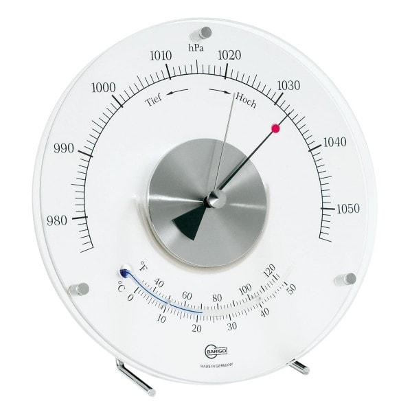 Barigo Baro- Thermometer Mattglas