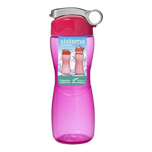 sistema Trinkflasche Sanduhr 645 ml, pink