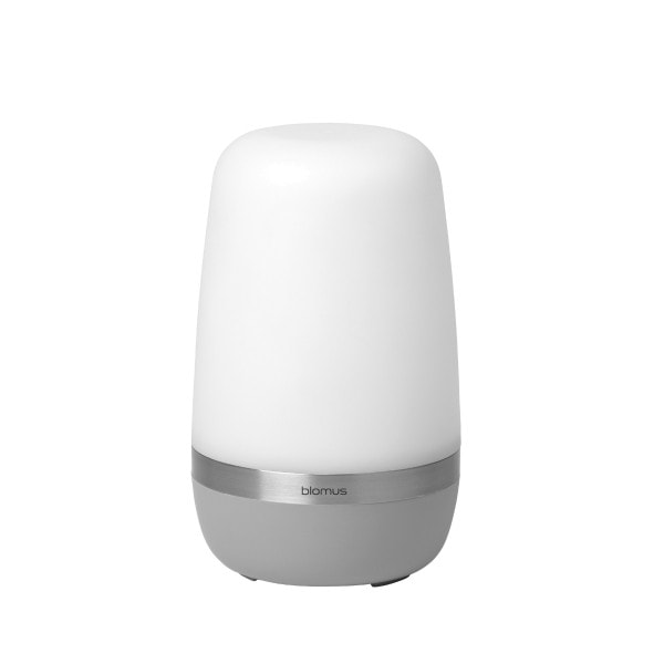 Mobile LED Lampe SPIRIT S, platingrau