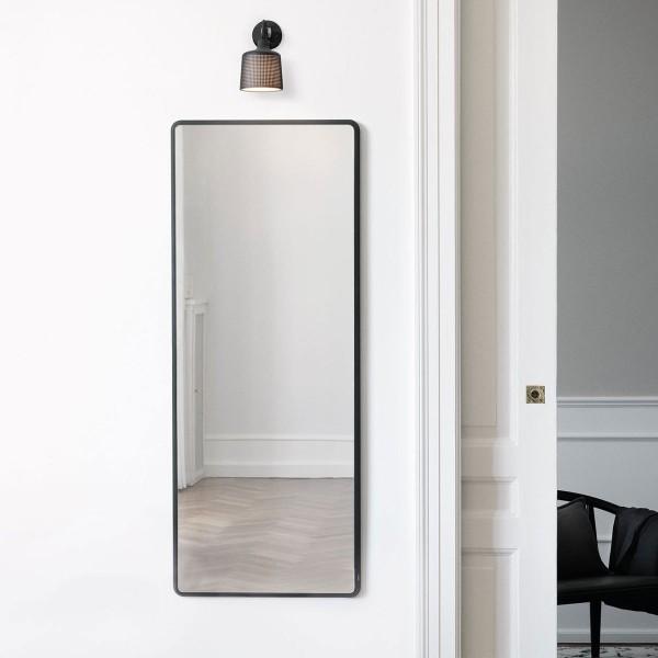 Vipp 912 Spiegel, schwarz