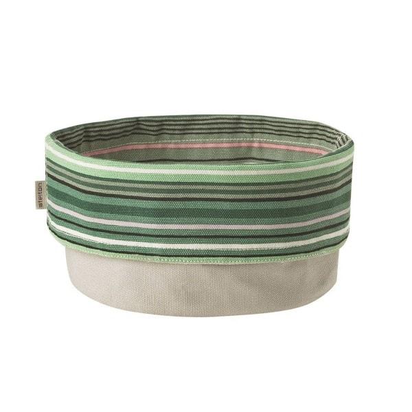 Stelton Brottasche 23 cm gestreift mint, weiss