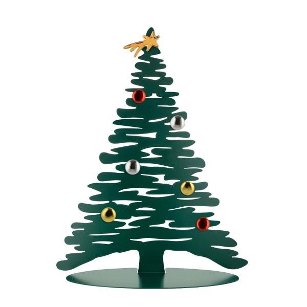 Alessi Weihnachtsbaum Stahl, grün 45 cm