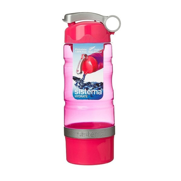 sistema Trinkflasche Sport Fusion 615 ml, rot