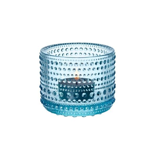 Iittala Teelichthalter KASTEHELMI hellblau 6.4 cm