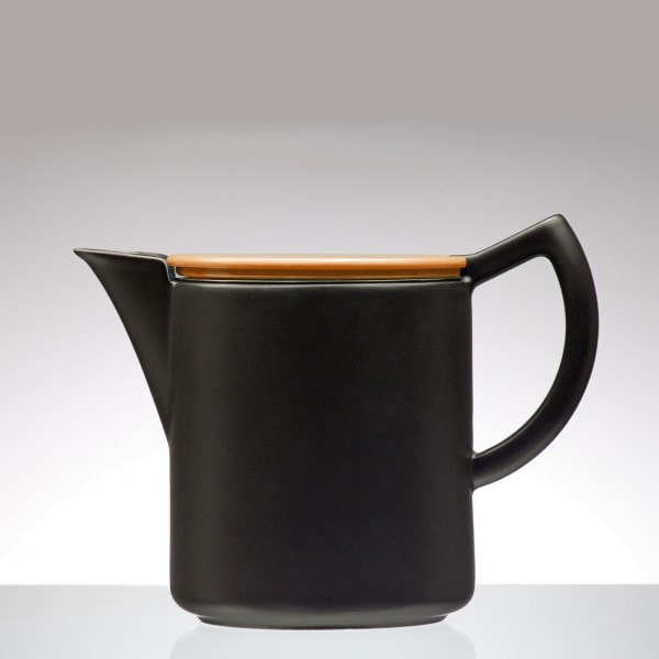 Sowden SoftBrew Kaffeekanne JAMES 0.8L schwarz-orange