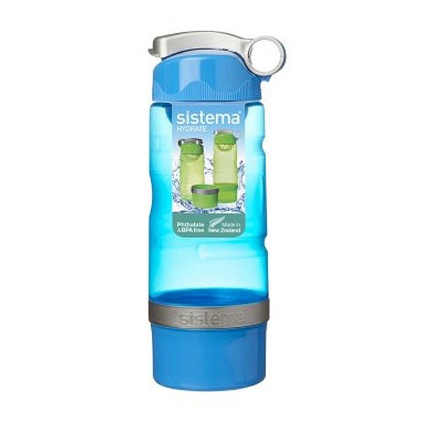 sistema Trinkflasche Sport Fusion 615 ml, hellblau