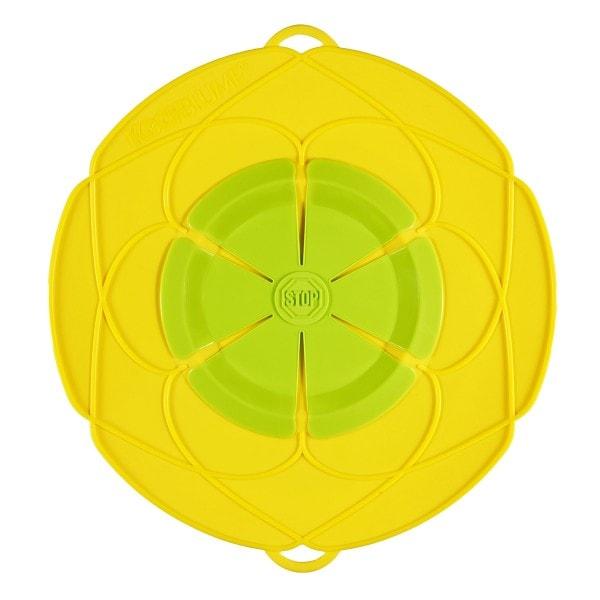 Kochblume Überkochschutz gelb-grün 25.5 cm