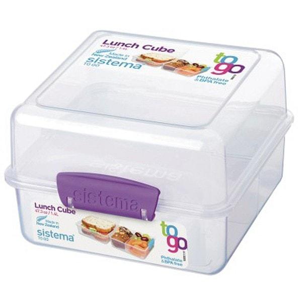 sistema Lunch Box To Go, Clip lila