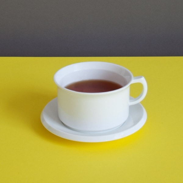 Sowden 4er-Set Teetassen mit Untertasse OSKAR