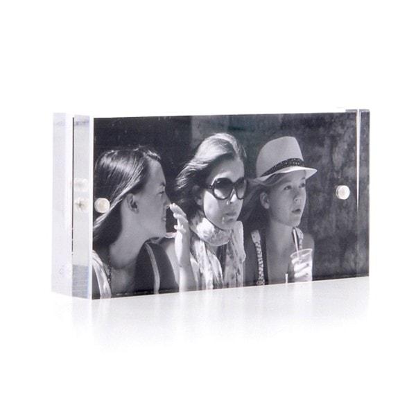 XLBOOM Bilderrahmen Acryl 10x5 cm