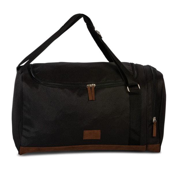 Fabrizio Sporttasche mit Rucksackfkt. schwarz