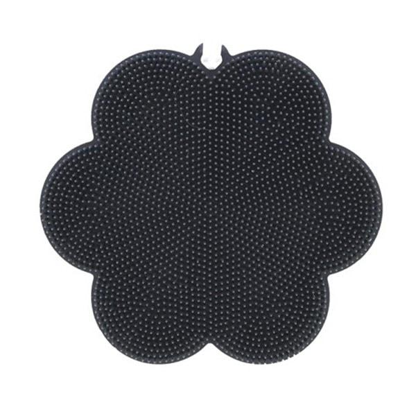 Kochblume SWISCH Silikonschwamm Reinigung und Fusselbürste schwarz