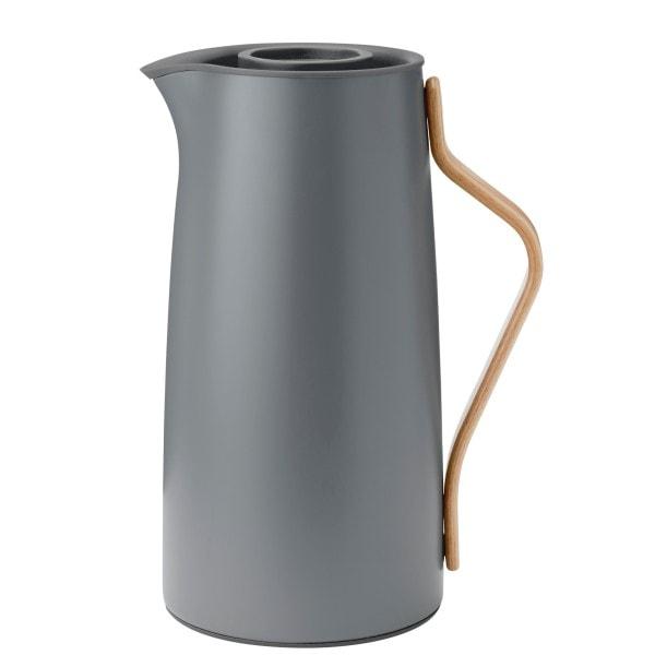 Stelton Kaffeeisolierkanne EMMA 1.2 l, LE mattgrau