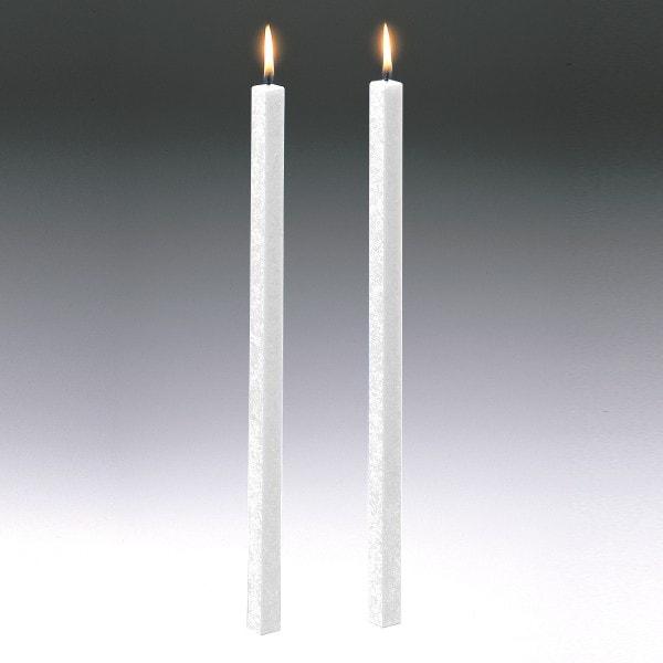 Amabiente Kerze CLASSIC weiß 19cm - 4er Set