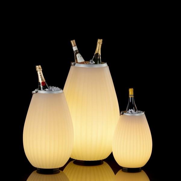 JOOULY LED-Lautsprecher-Kühler, Rillenoptik - Größenwahl