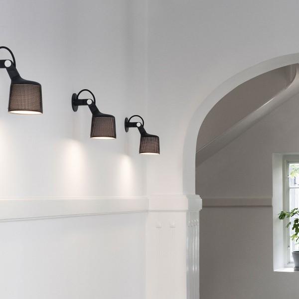 VIPP 524 Wandlampe Wandspot, schwarz