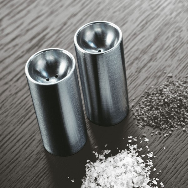 Stelton Salz- und Pfefferstreuer Edelstahl poliert