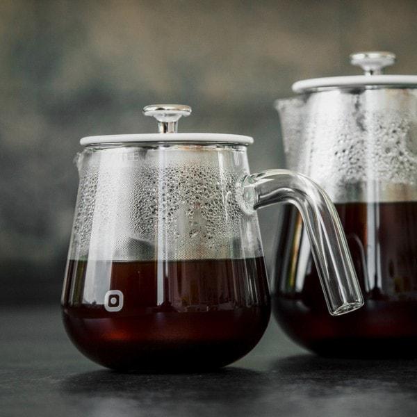 Kaffeebrüher ARCA X-TRACT 0.8 l, transparent
