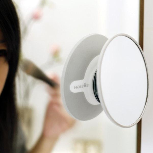 Bosign Kosmetikspiegel magnetisch weiß-grau