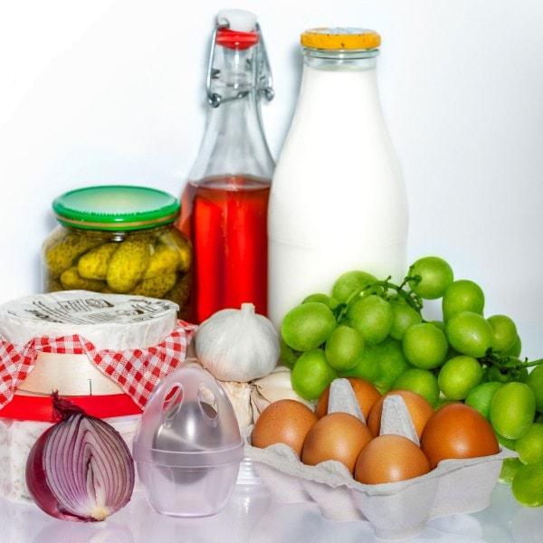 zilofresh Lufterfrischer Kühlschrank Ei, transparent