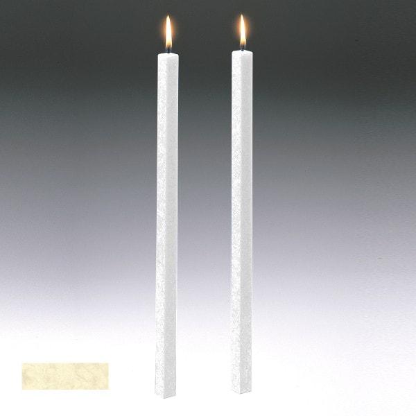 Amabiente Kerze CLASSIC Elfenbein 19cm - 4er Set