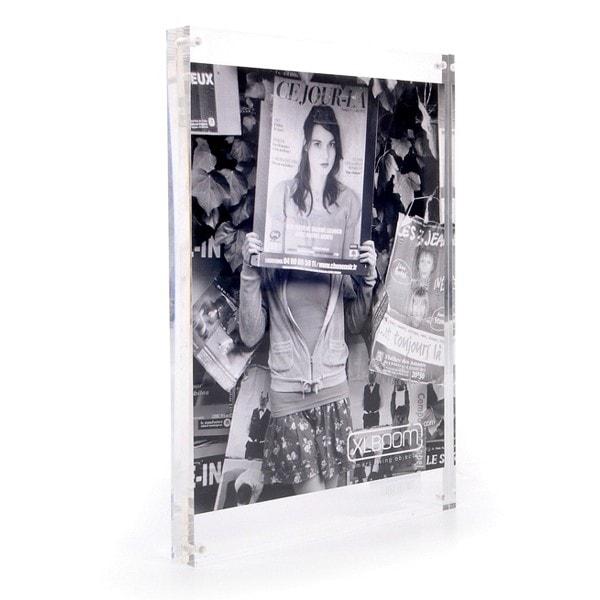 XLBOOM Bilderrahmen Acryl 30x21 cm