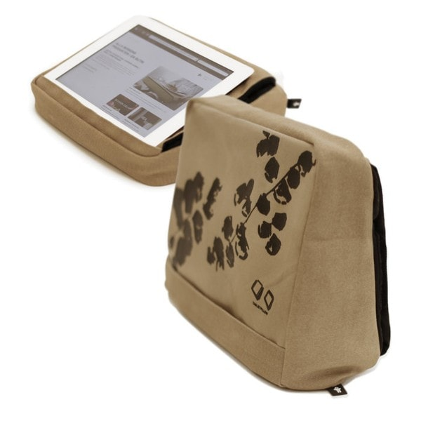 Bosign Tablet-Kissen TABLETPILLOW 2, Khaki braun