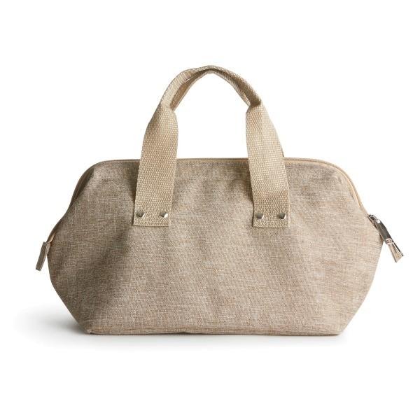 Sagaform Kühltasche Handtasche, Leinenlook