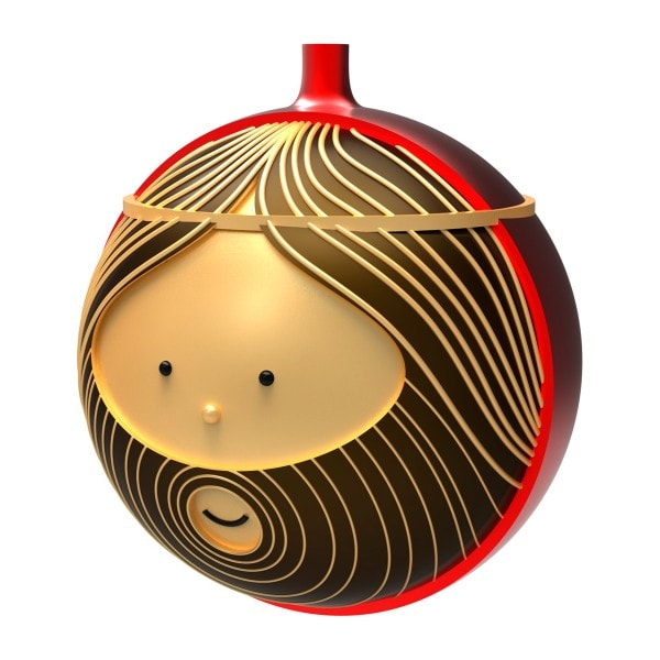 Alessi Weihnachtsbaumkugel GIUSEPPE