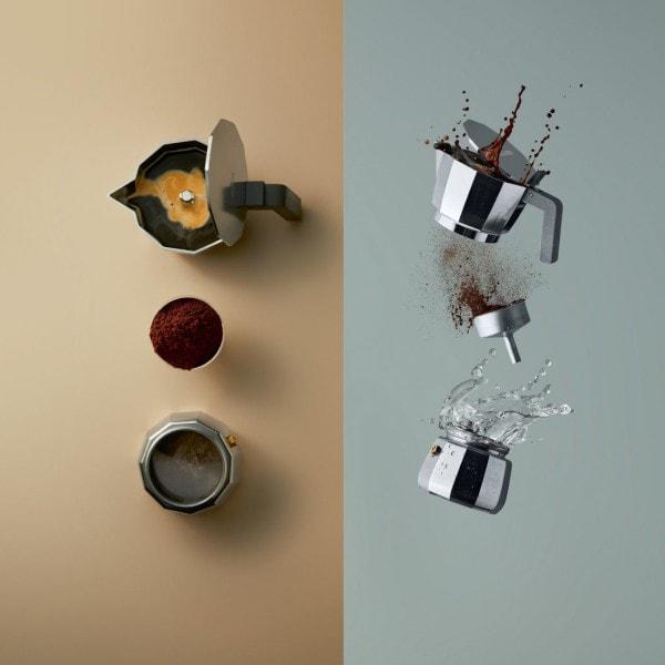 Alessi Espressokocher MOKA modern 6