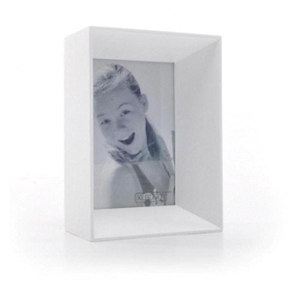 XLBOOM Bilderrahmen PRADO 10 x 15 cm, weiß