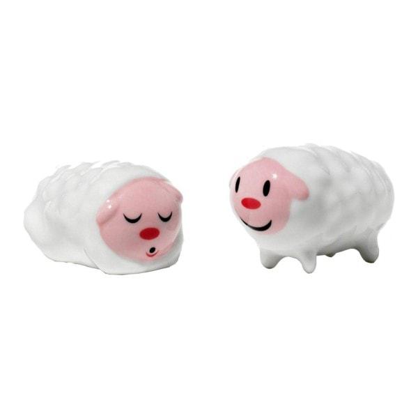 Alessi Figuren kleines Schaf Paar