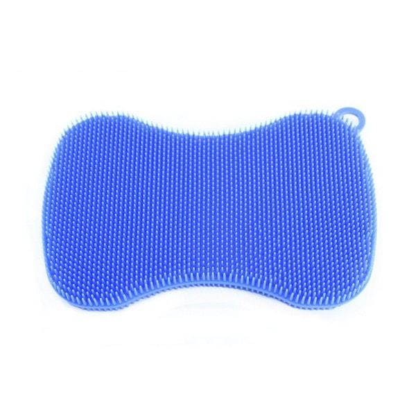 Kochblume SWISCH Silikonschwamm rechteckig tailliert hellblau
