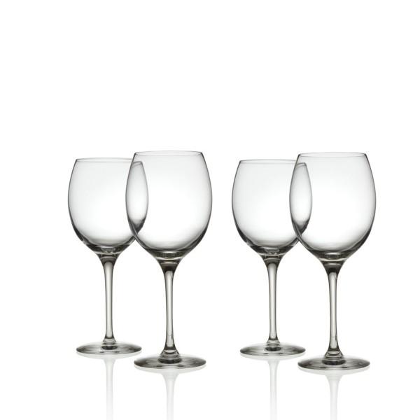 ALESSI Weißweinglas Mami XL 4er Set