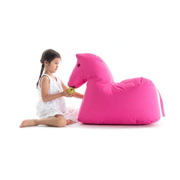 Sitzsack Pferd LOTTE Happy Zoo, pink
