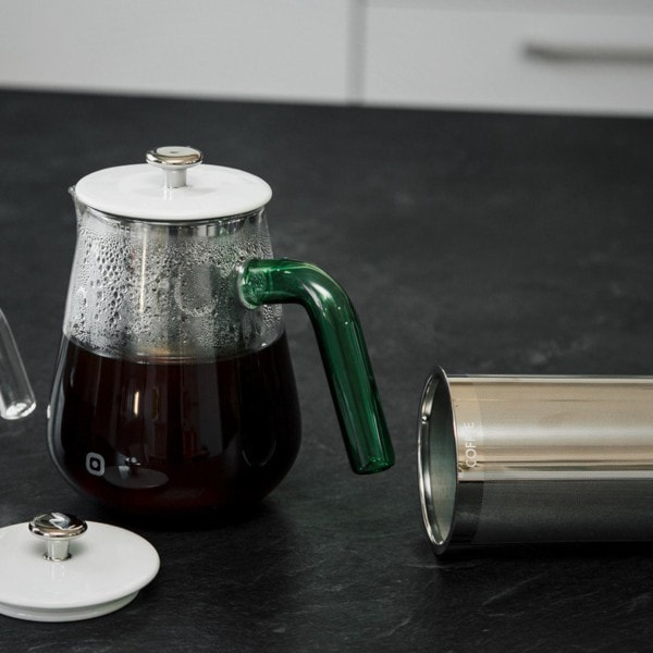 Kaffeebrüher ARCA X-TRACT 0.8 l, transparent-grün