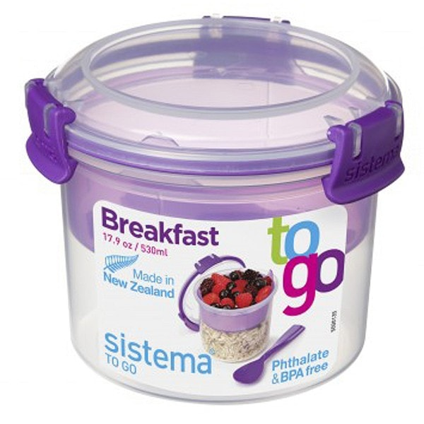 sistema Box Breakfast To Go 0.53 l, lila