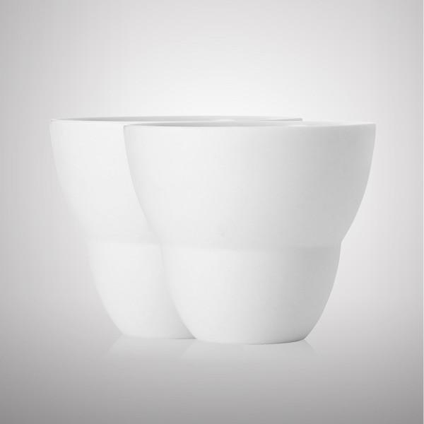 VIPP 202 Kaffeetasse, 2er-Set weiß