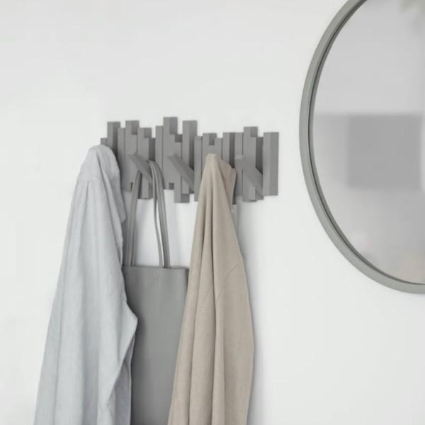 Umbra Garderobe MULTI HOOK 5, grau