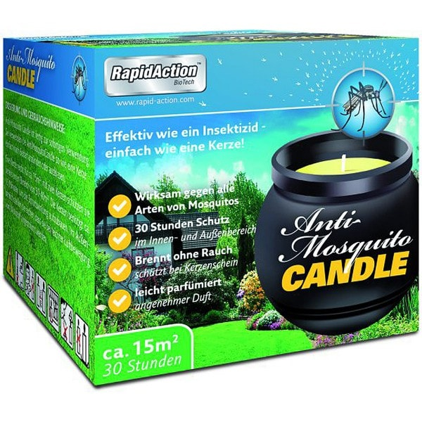 RapidAction Anti Mücken Candle
